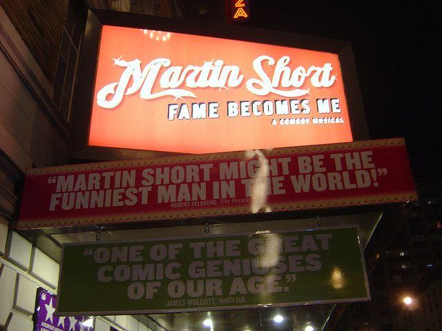 Martin Short Fame Becomes Me.