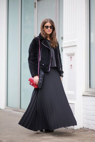The 265 best outfits spotted at New York Fashion Week.