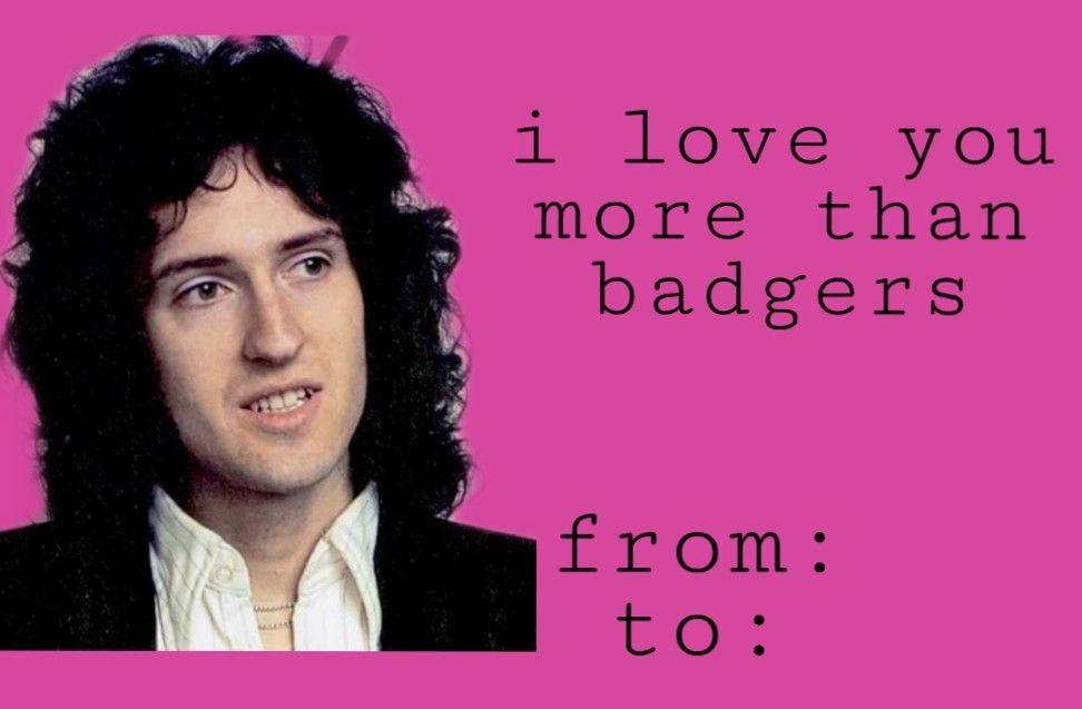 Pin By Nola Butler On Queen Valentines Queen Meme Queen Humor Queen Band