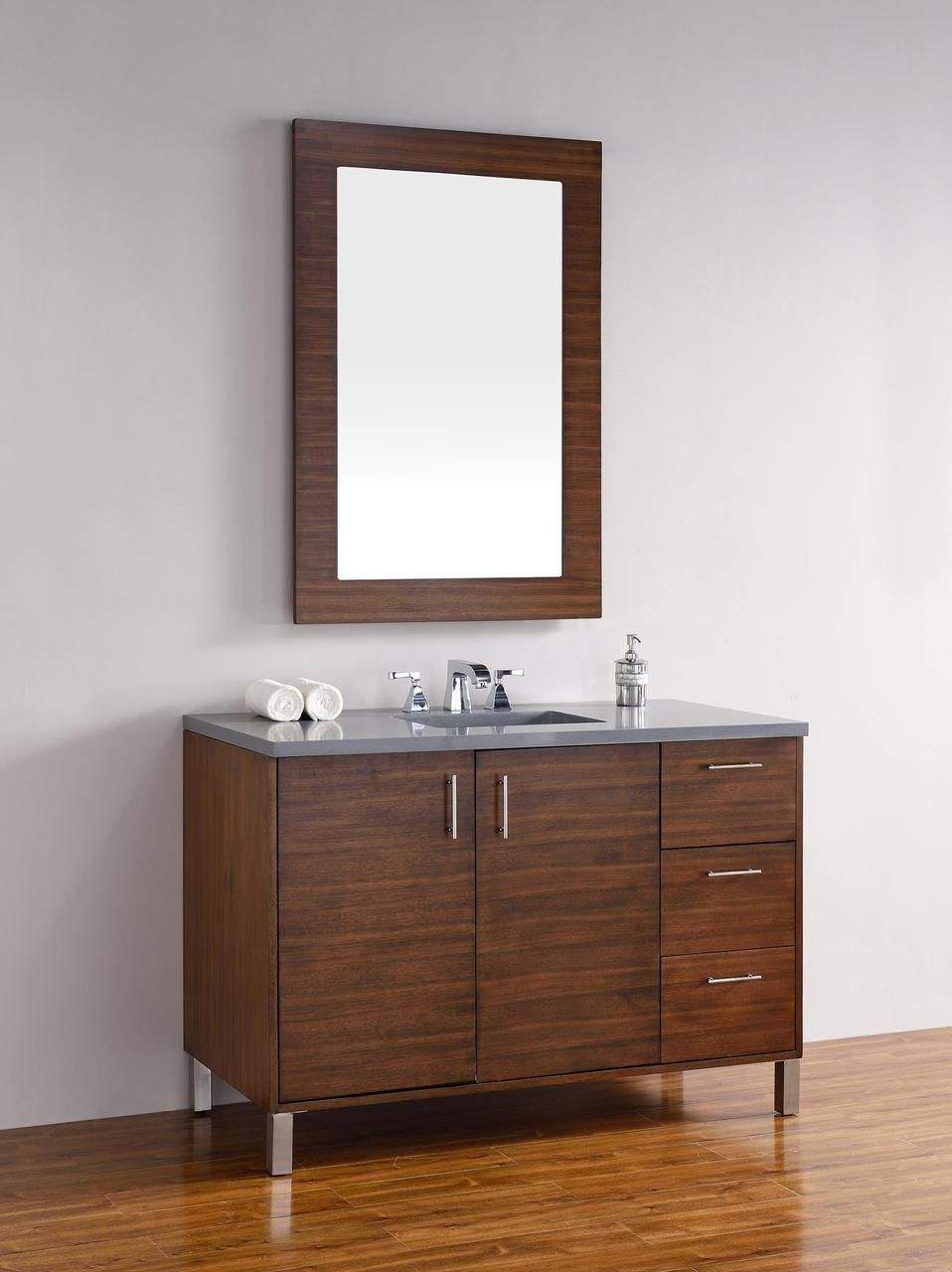 the 48 inch modern bathroom vanity http www listvanities com rh pinterest com White 48 Inch Bathroom Vanities with Tops Modern Bathroom Vanities On Sale