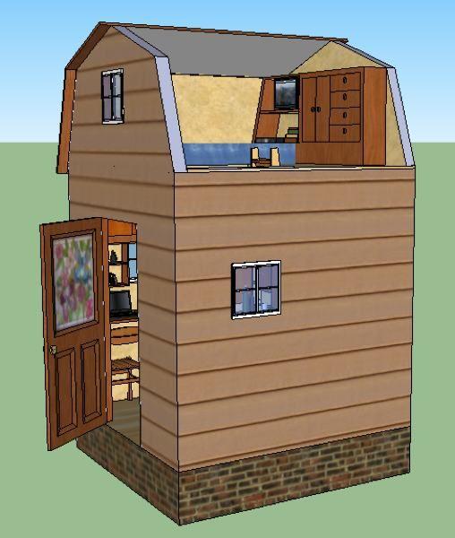 Lamar S 8 8 Tiny House Design Tiny House Design Shed Mini Cabins