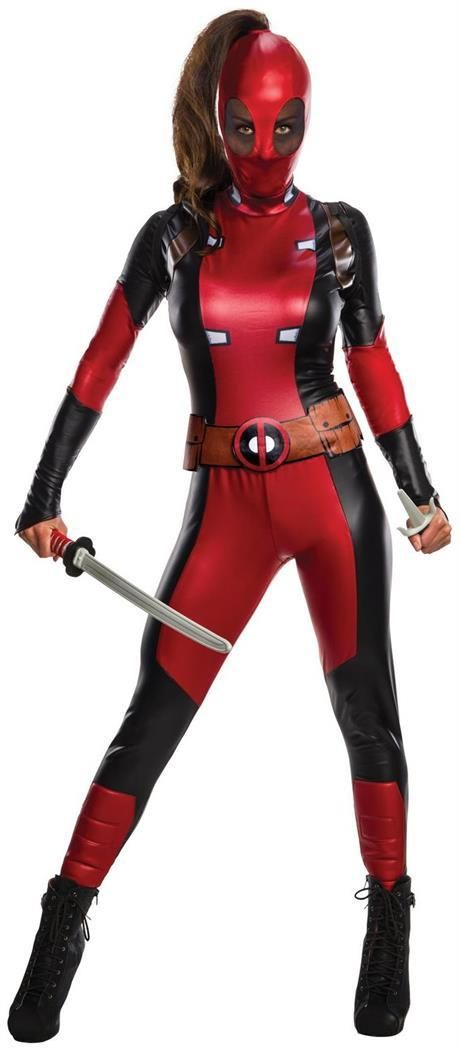 PartyBell - #Deadpool Secret Wishes WomenCostume Halloween - halloween costumes 2016 ideas