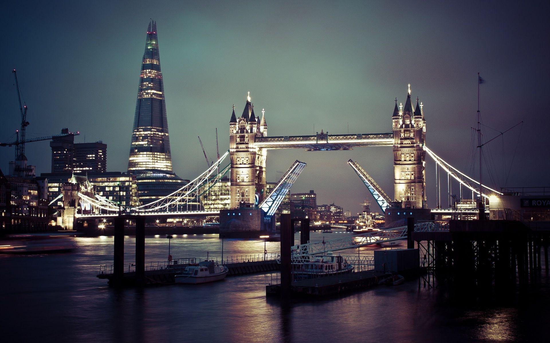 Обои ночь, london. Города foto 11