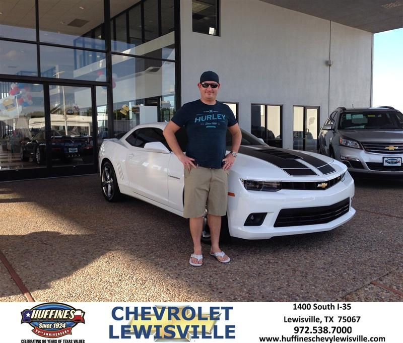 Congratulations to Mitchell Sowards on your #Chevrolet #Camaro purchase from Henry Boyd at Huffines Chevrolet Lewisville! #NewCar