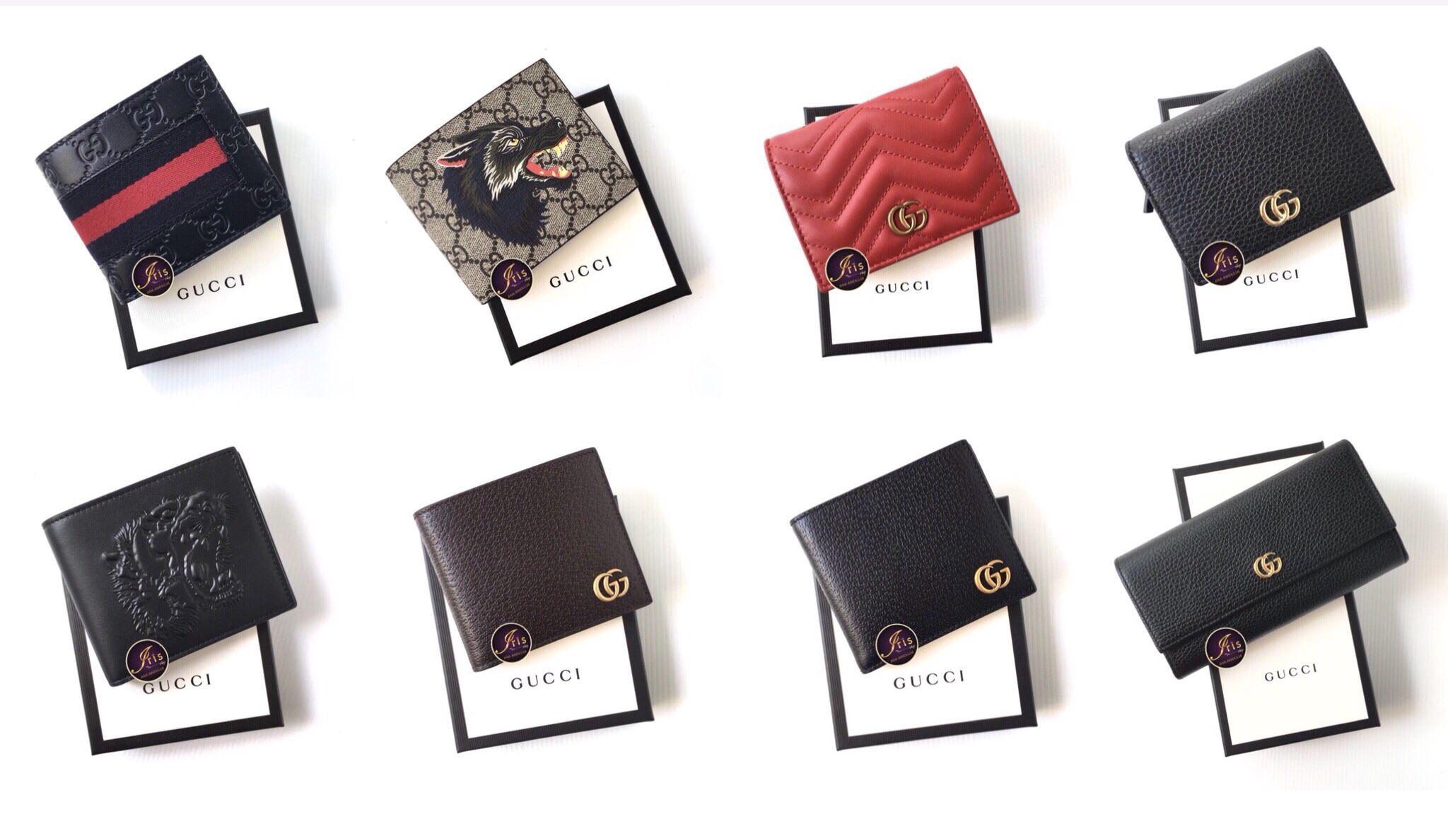 กระเป๋าสตางค์ GUCCI WALLET FOR MALE & FEMALE รวมรุ่น สวยๆทั้งนั้น ของใหม่  พร้อมส่ง!!! - Iris Shop   กระเป๋าสตางค์