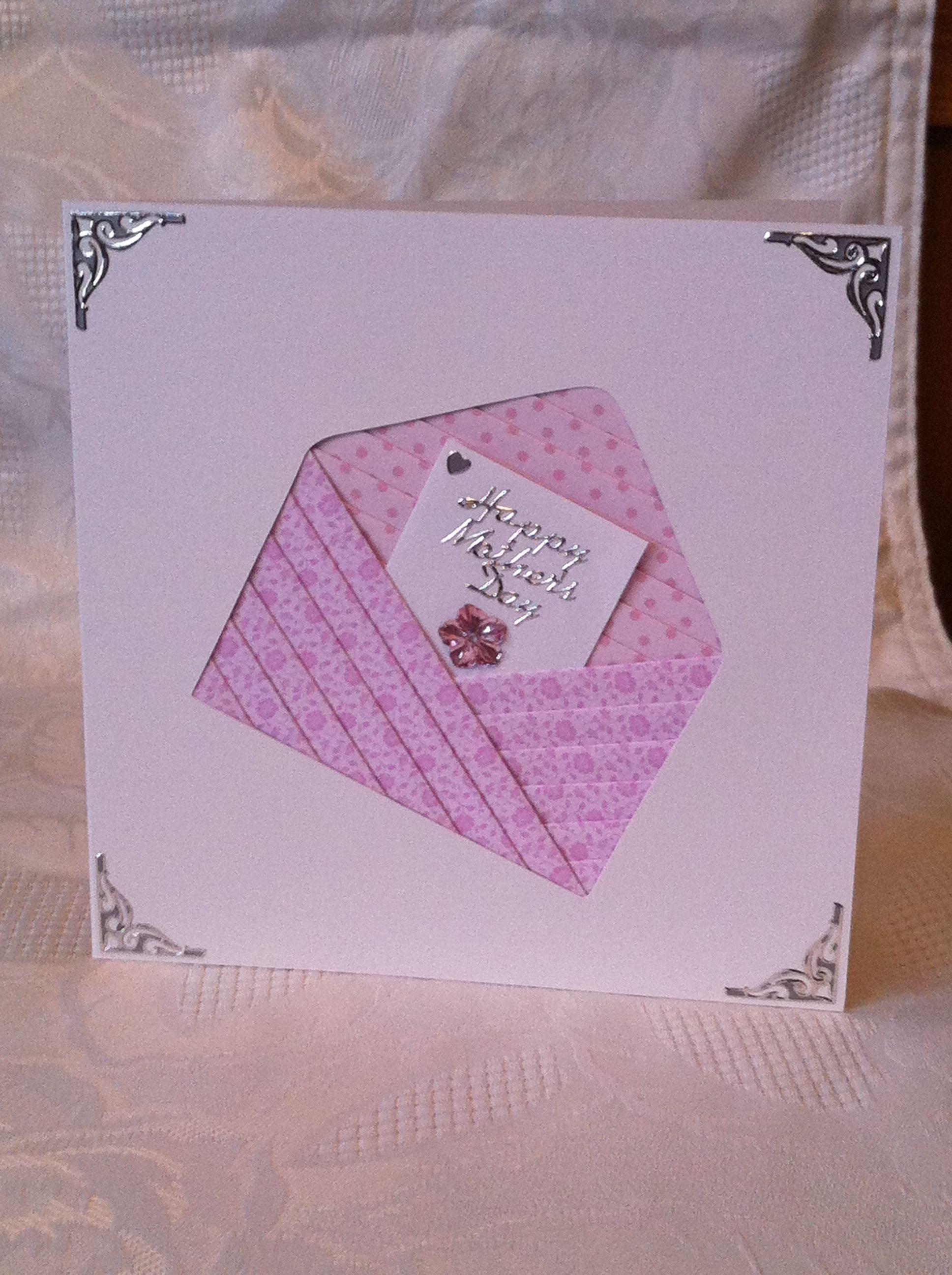 Iris Folding : Envelope Card | Iris Folding | Pinterest | Tarjetas ...