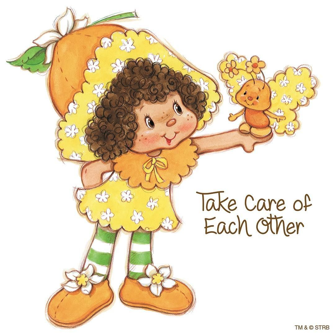 Take care of each other! | Orange Blossom-Strawberry Shortcake ...