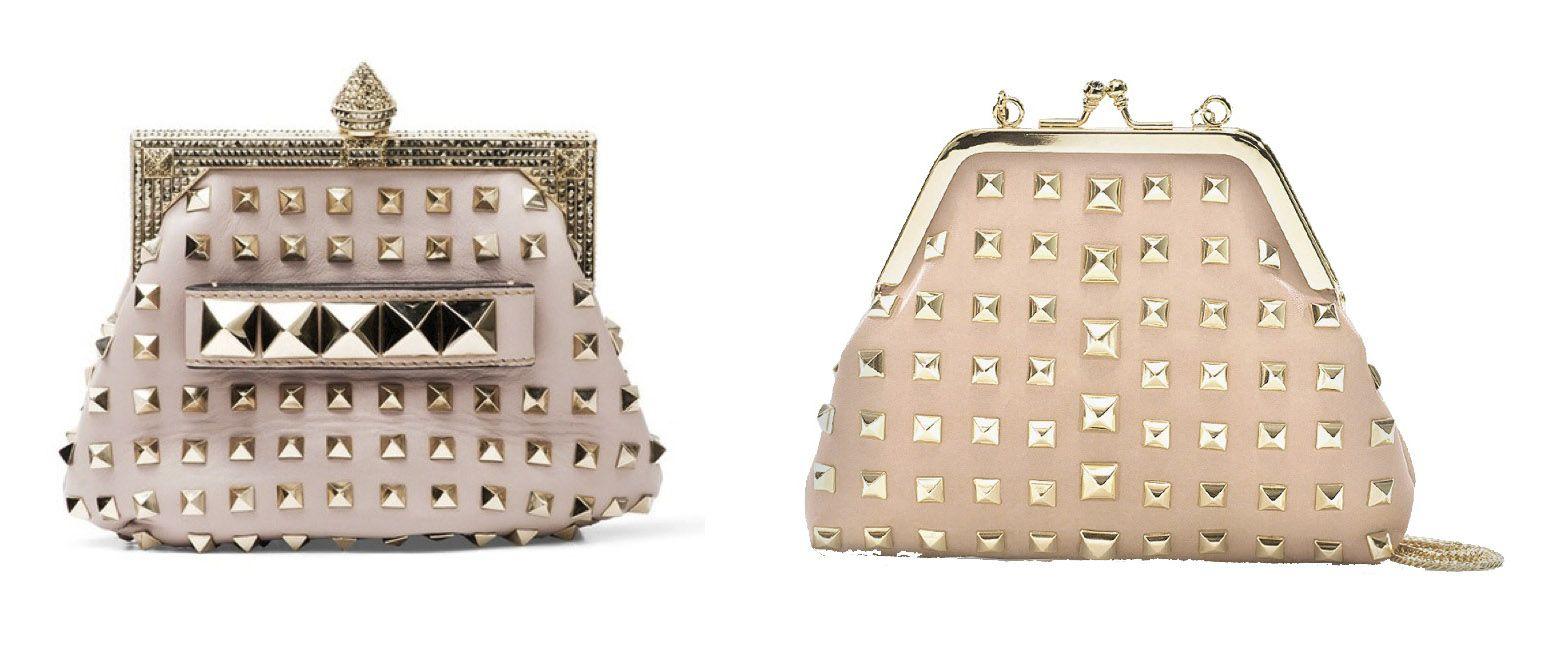 La Modella Mafia Get The Look Valentino Leather Studded Handbags 1