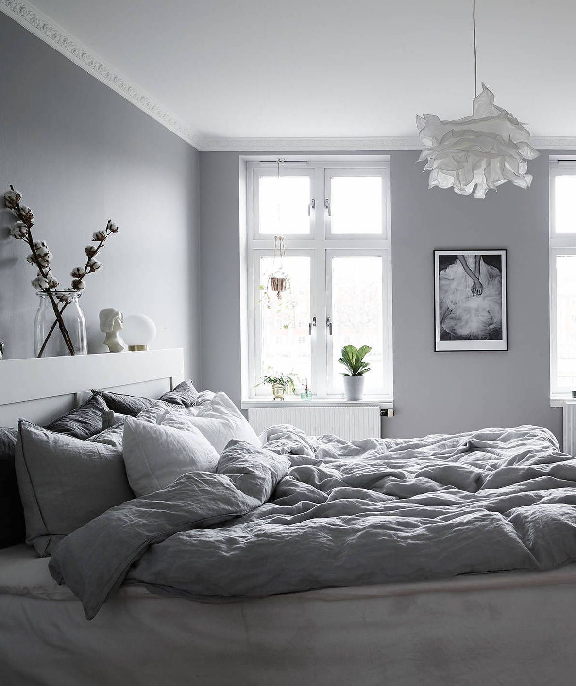 Soft grey home b e d r o o m pinterest schlafzimmer for Innengestaltung wohnung