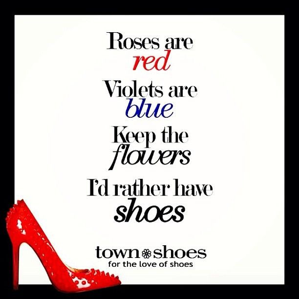 I'd rather have SHOES <3