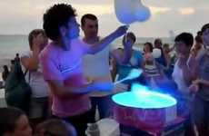 Sweet Vendor Dancevertising - The 'Cotton Candy Dancing Pro' Video is Addicting and Unusual
