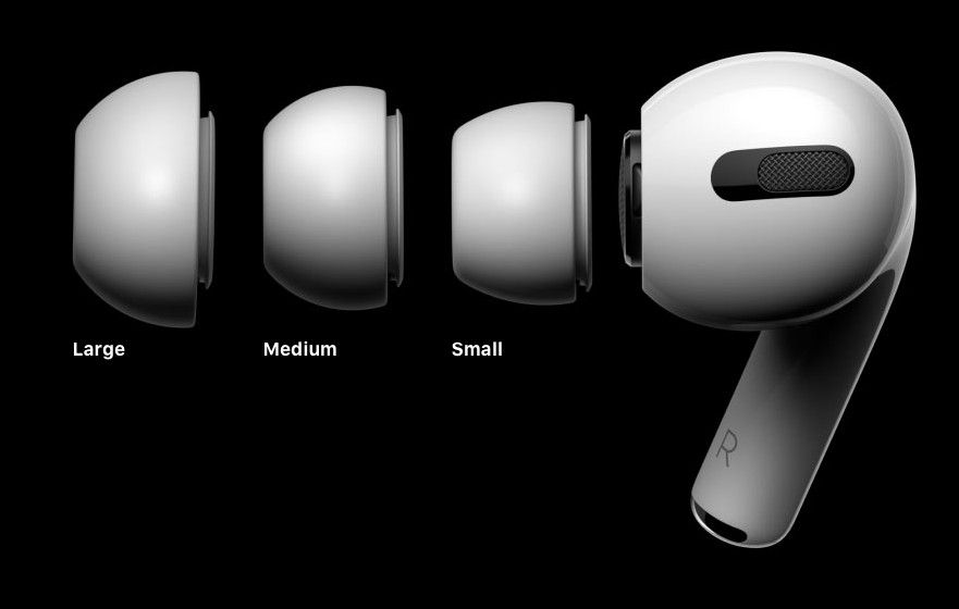 Apple Announces Airpods Pro With Noise Cancellation Coming October 30th Airpods Pro Noise Cancelling Iphone Headphones