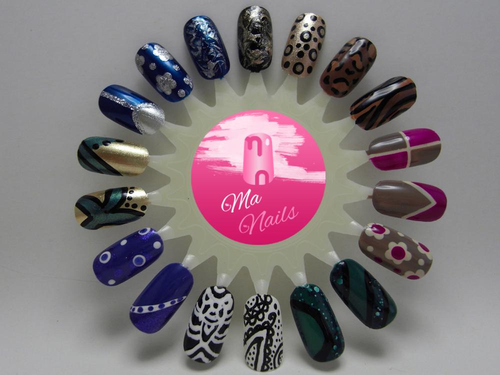 Nail Art Designs – Nail Art Wheel 5 | Stuff to Try | Pinterest ...