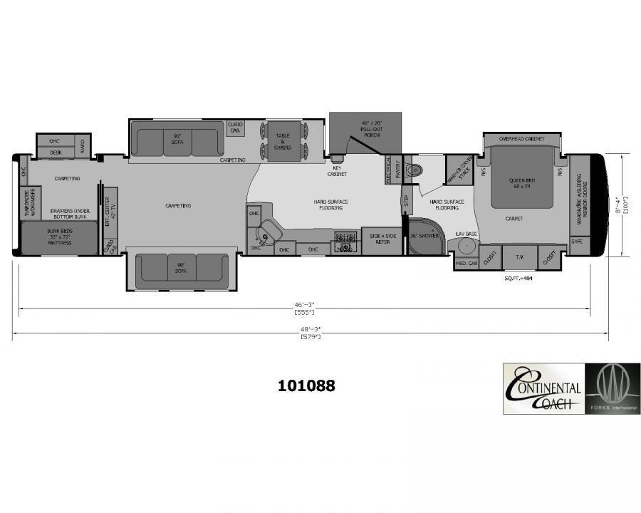 2 Bedroom 5th Wheel Bedroom At Real Estate Rv Floor Plans 5th Wheels Fifth Wheel Campers