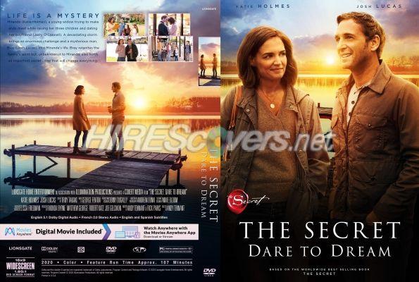 The Secret: Dare To Dream (2020) Custom DVD Cover