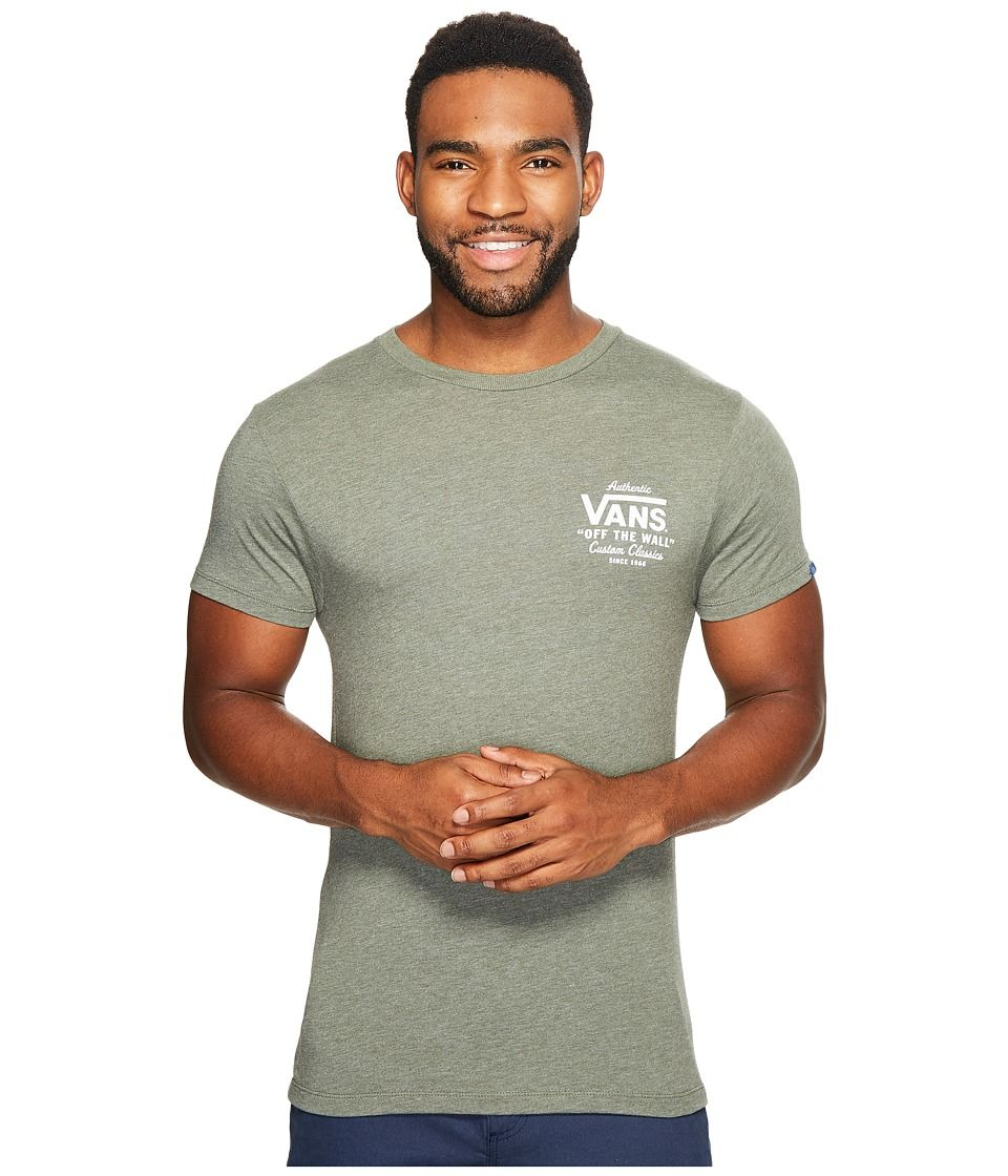 a57d7805bc VANS VANS - HOLDER STREET II TEE (OLIVE HEATHER) MEN S T SHIRT.  vans   cloth