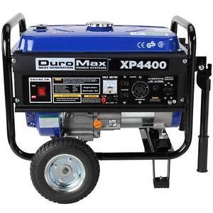 Buy Duromax Xp4400 Portable Gas Powered Recoil Start Generator Rv Home Backup Deal Tikka Rv Generator Ebay