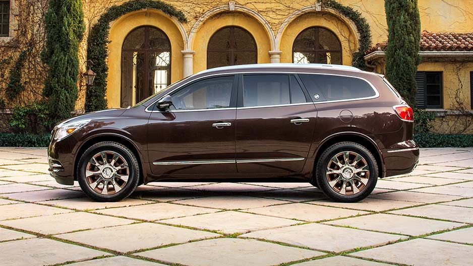 Tuscan Edition Buick Enclave Chevrolet Traverse Buick Lacrosse