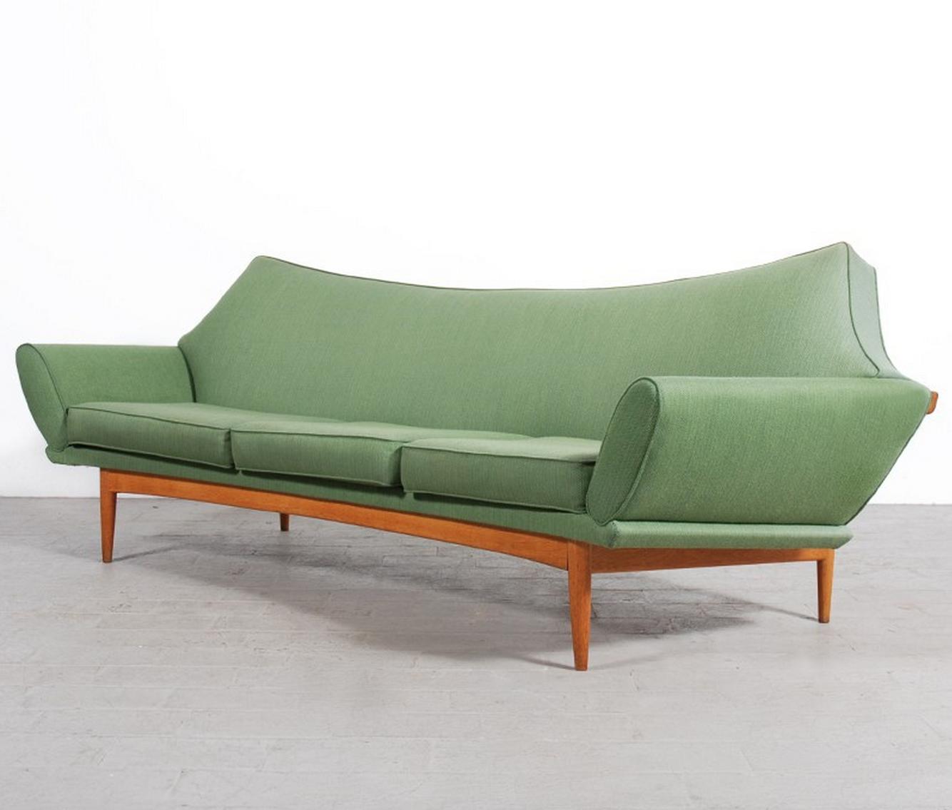 Mid Century Retro Vintage Johannes Andersen Teak Sofa Couch Lounge 3 Seater 1960s Retro Furniture Design Modern Mid Century Modern Decor Modern Style Furniture