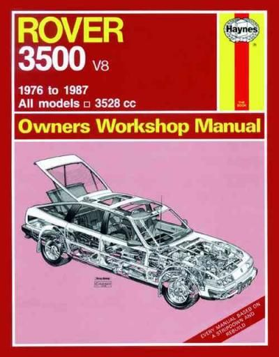 Rover 3500 V8 1976 1987 Haynes Service Repair Manual Repair Manuals Manual Car Repair