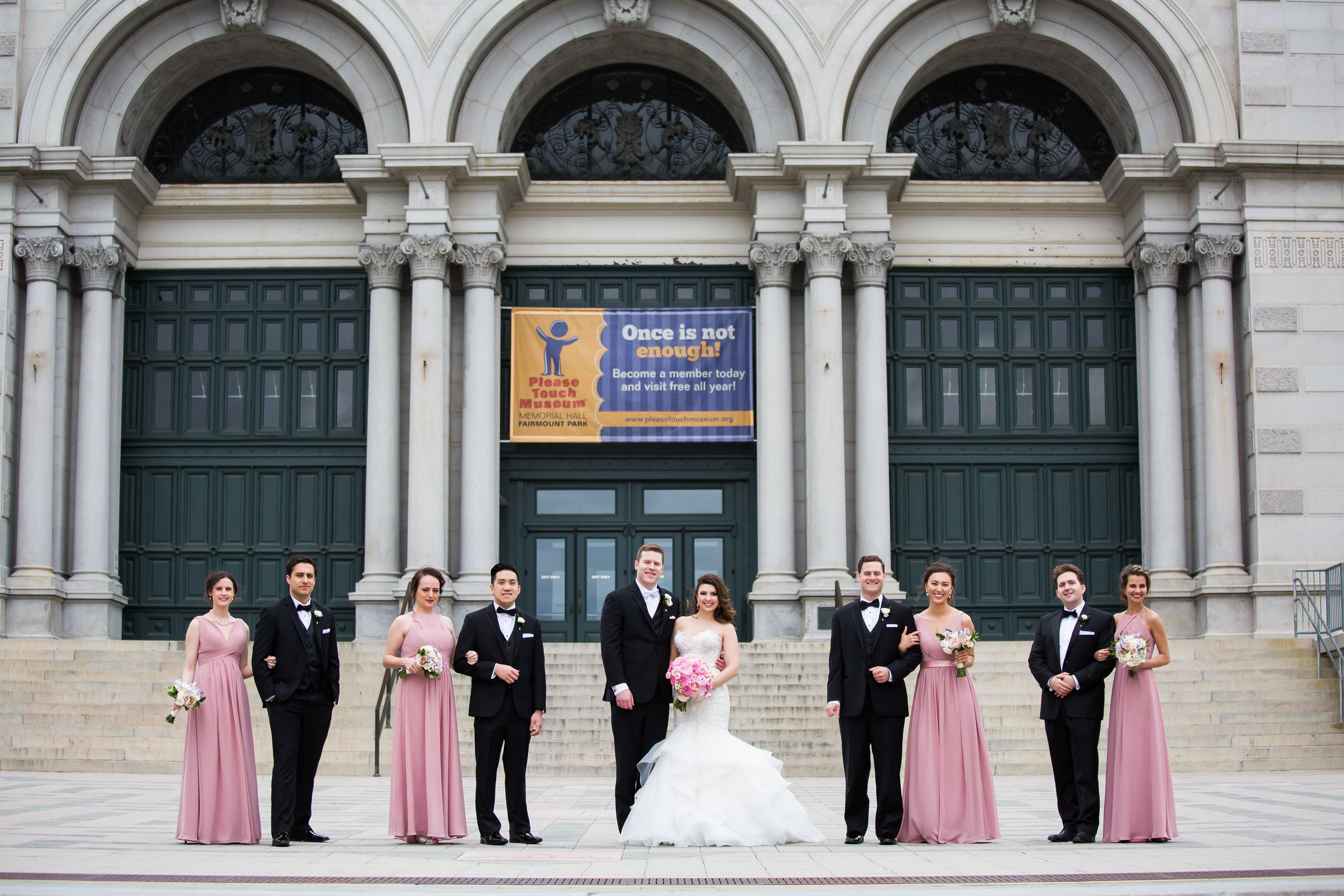 Bridal party krista patton photography philly wedding please