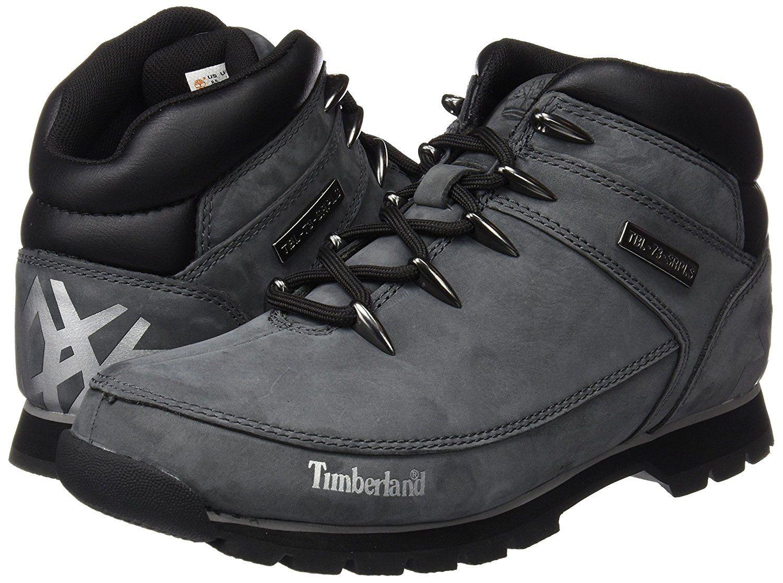 31d9a5ca281ba Amazon.com | Timberland Men's Euro Sprint Hiker Grey Leather Boot ...