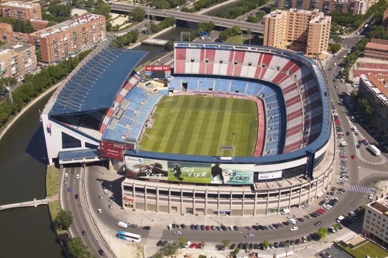 Atletico Madrid stadion, a Vicente Calderon, melynek ...