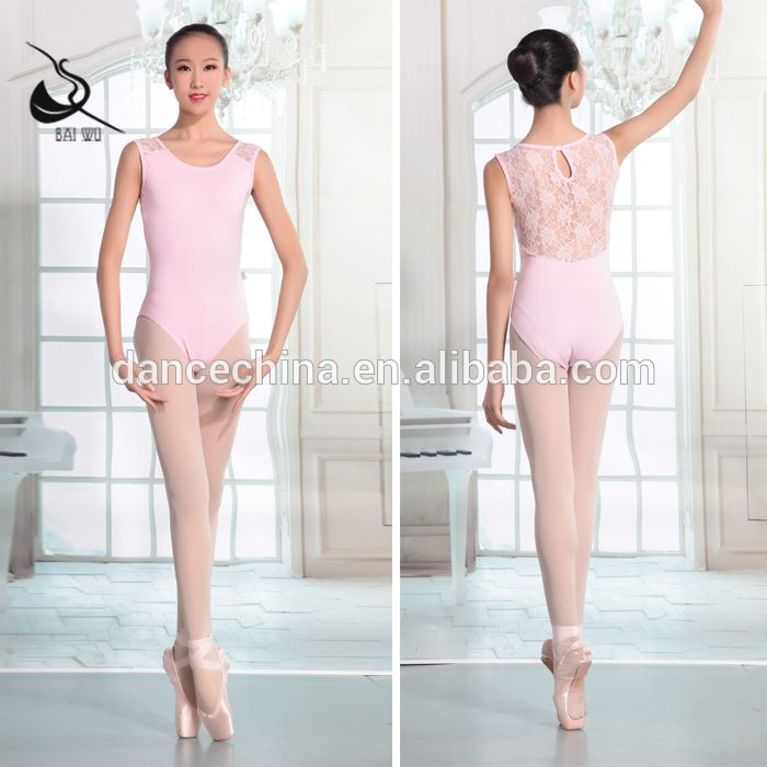 9332f5947 115141010 Sleeveless Leotard Lace Ballet Leotard