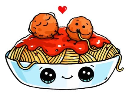 Dessin Spaghetti Kawaii En 2020 365 Dessins Kawaii Dessin