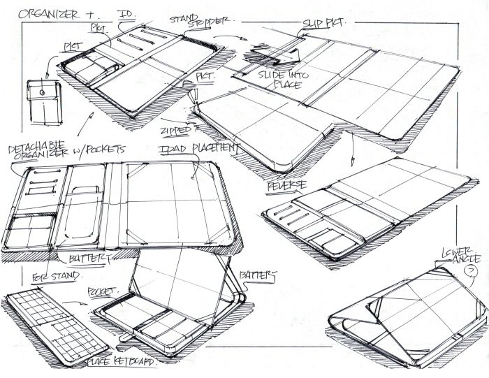 Id Industrial Design Product Sketch