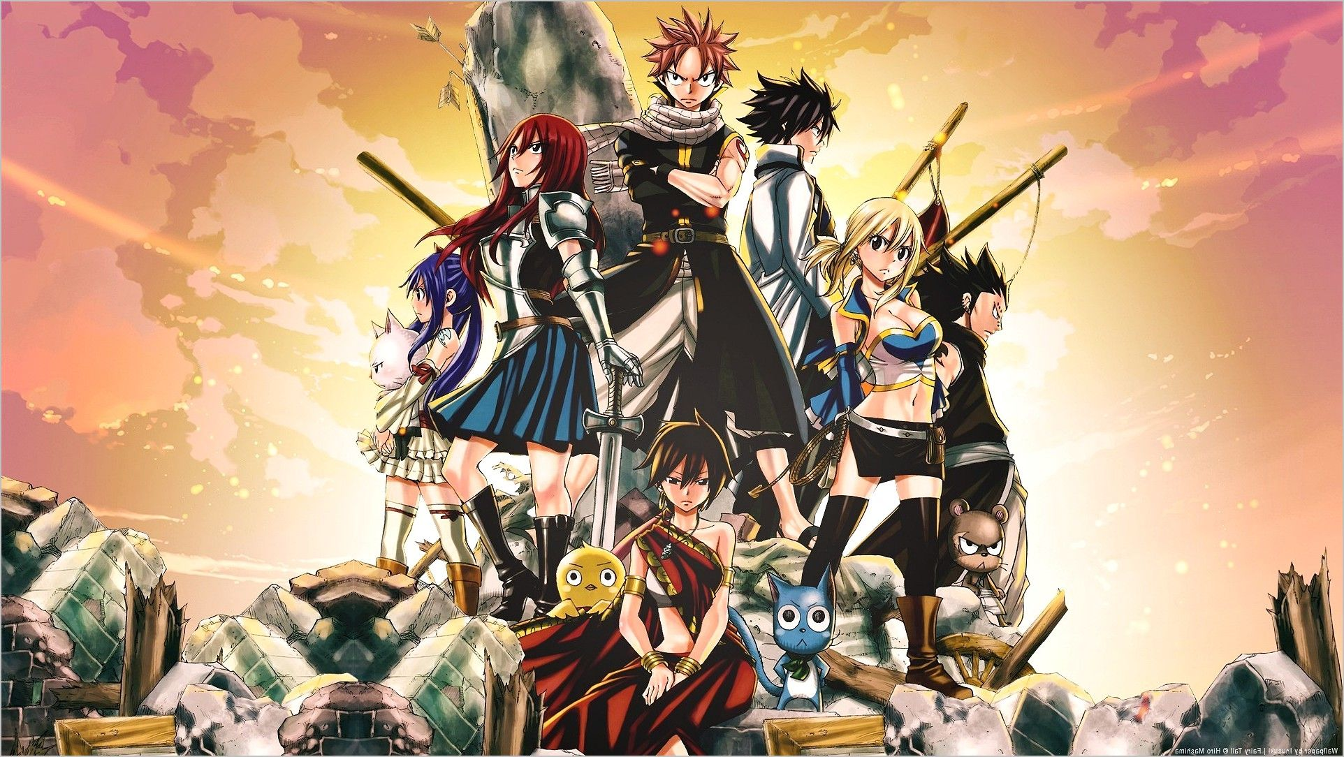 Fairy Tail 4k Wallpaper Dragon Slayers In 2020 Fairy Tail Anime Fairy Tail All Characters Fairy Tail Characters