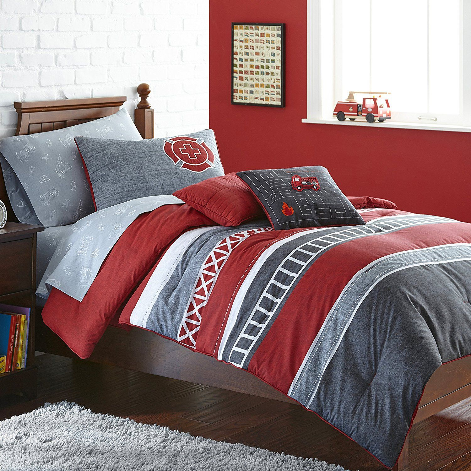 Frank And Lulu Ladder 23 Full Comforter Set Cuarto