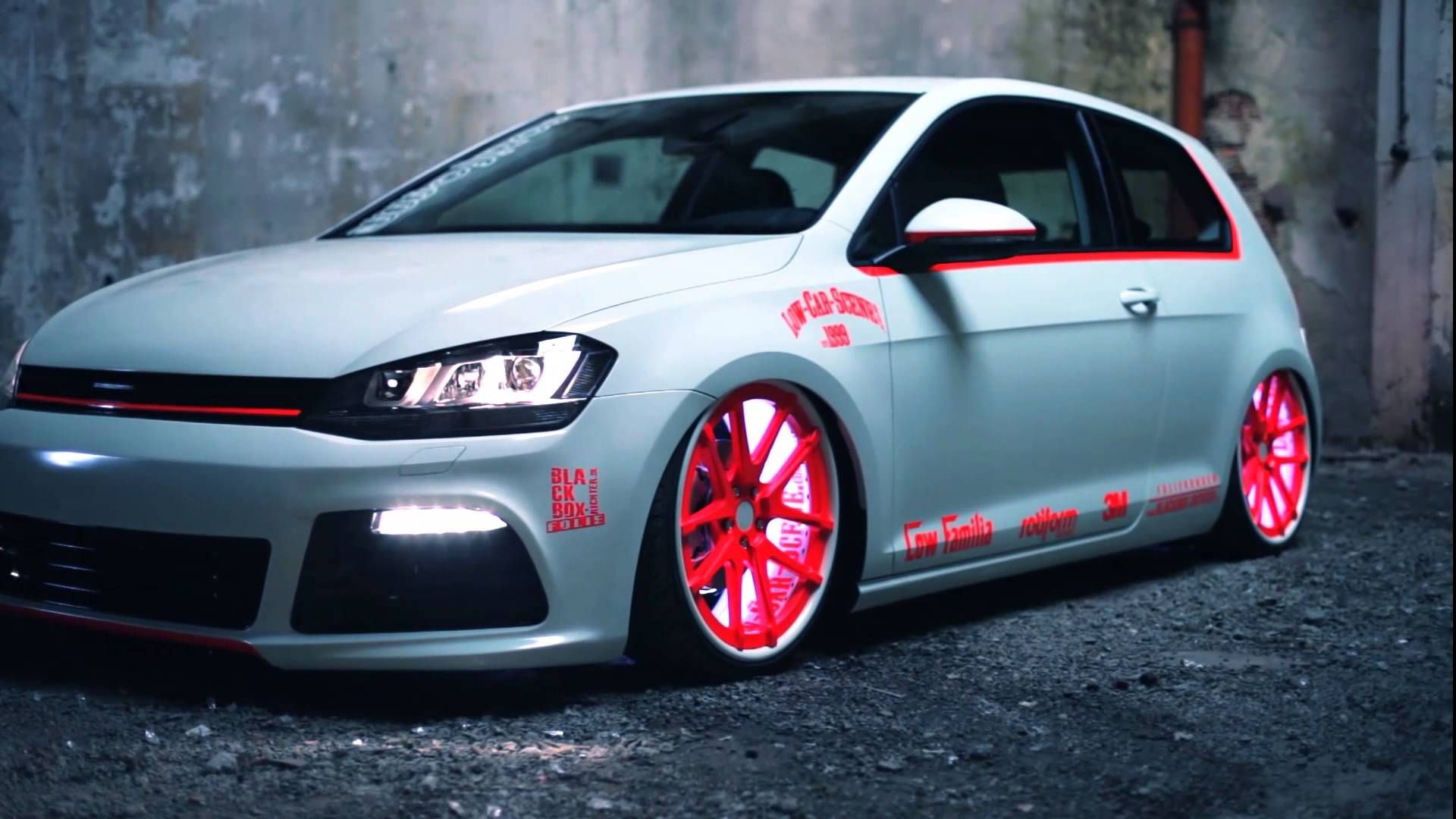 vw golf 7 2013 light tron tuning showcar awesome vw 39 s. Black Bedroom Furniture Sets. Home Design Ideas