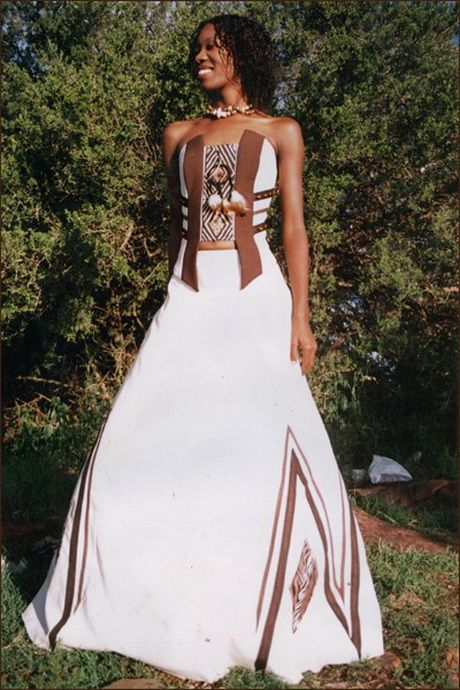African inspired bridal dress | surina | Pinterest | Bridal dresses ...