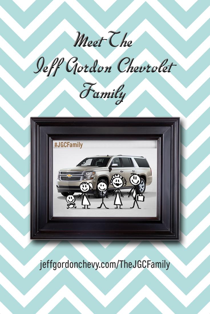 Jeff Gordon Chevrolet >> Meet The Jeff Gordon Chevrolet Family Www Jeffgordonchevy Com