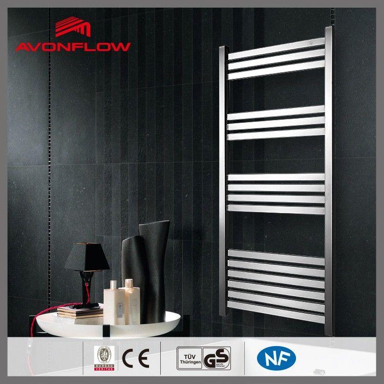 Avonflow 110v 250v Christmas Hand Towels Disinfection Towel Dryer Chrome Bathroom Rack