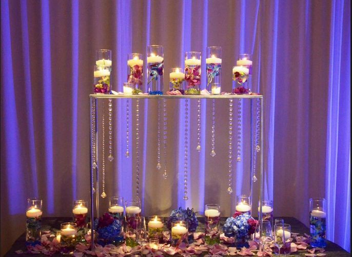 Ct75 Wholesale Acrylic Crystal Wedding Centerpiece For And