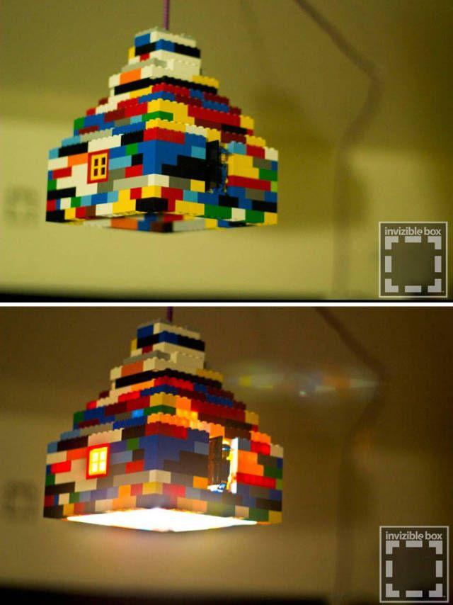 lego dinge lego pinterest kinderzimmer lego und lampen. Black Bedroom Furniture Sets. Home Design Ideas