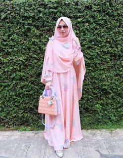 Gamis Dian Pelangi Edisi Lebaran 2018 Baju Muslimah Model Baju