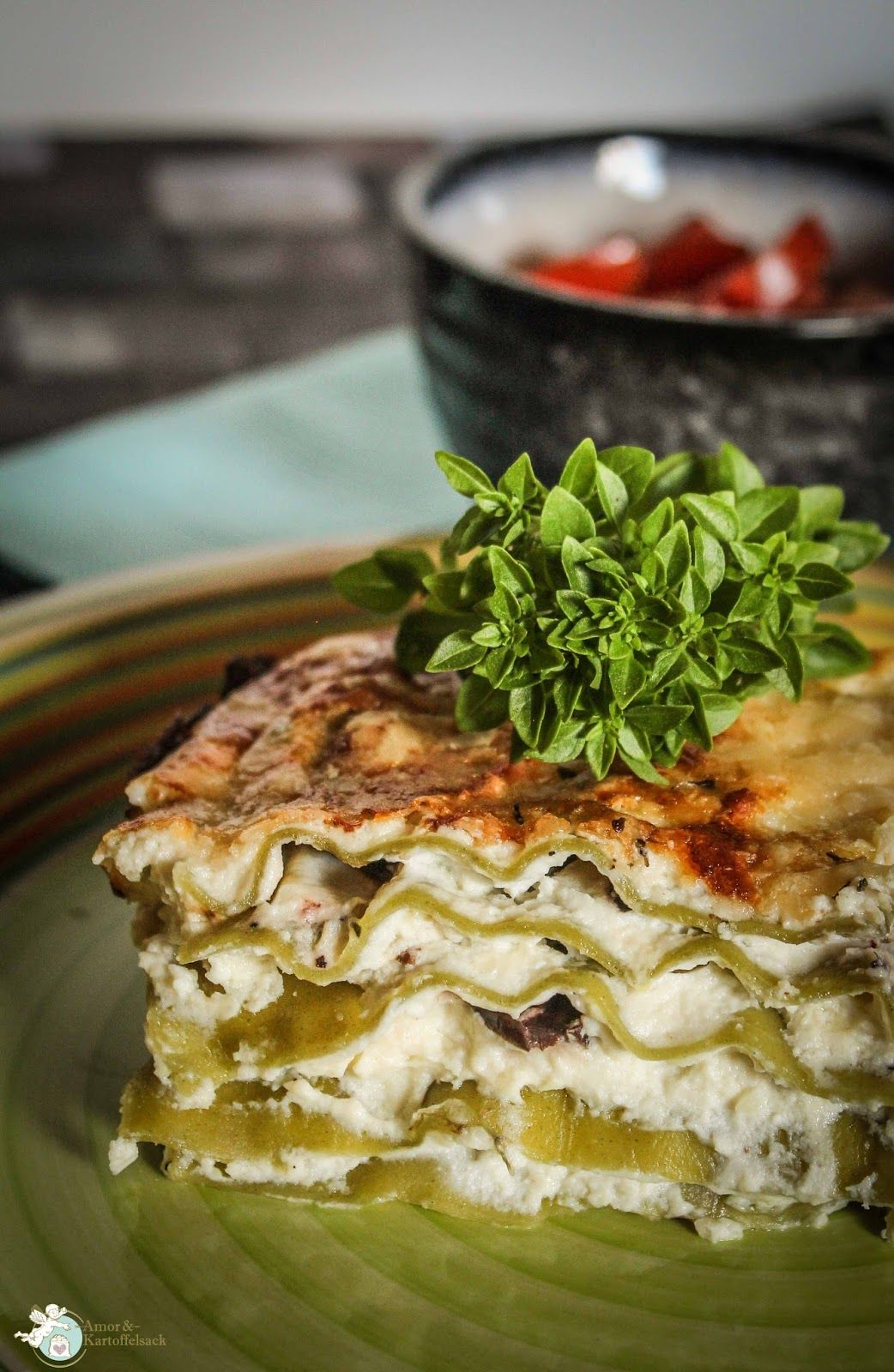 lasagne alla ricotta weiße lasagne in 2020 mit bildern