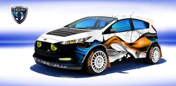 2014 Ford Fiesta ST By Ice Nine Group
