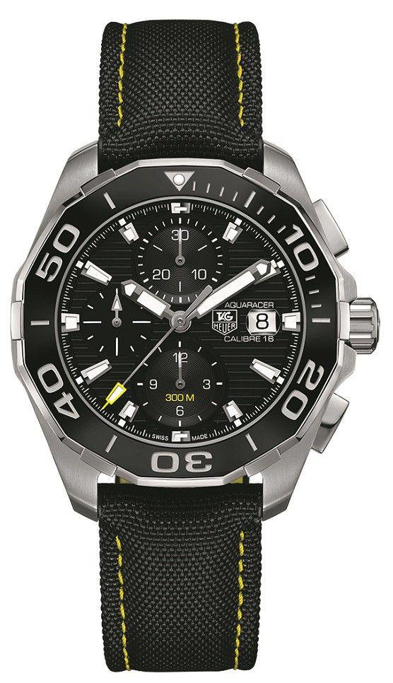 48059bc11a3 Tag Heuer Aquaracer 300M Black Dial Men s Watch CAY211A.FC6361