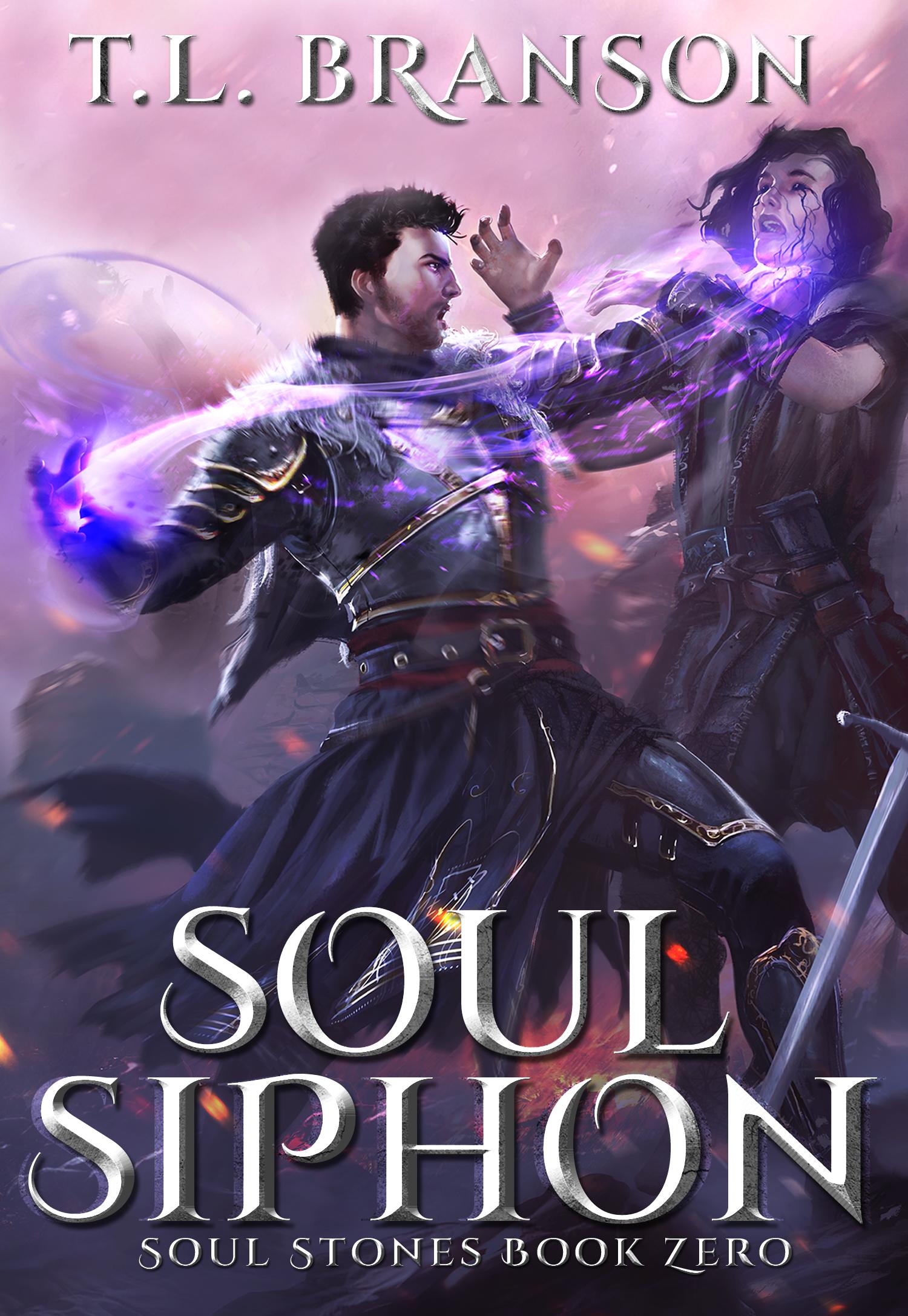Epic Fantasy Book cover for Soul Siphon, the prequel novella