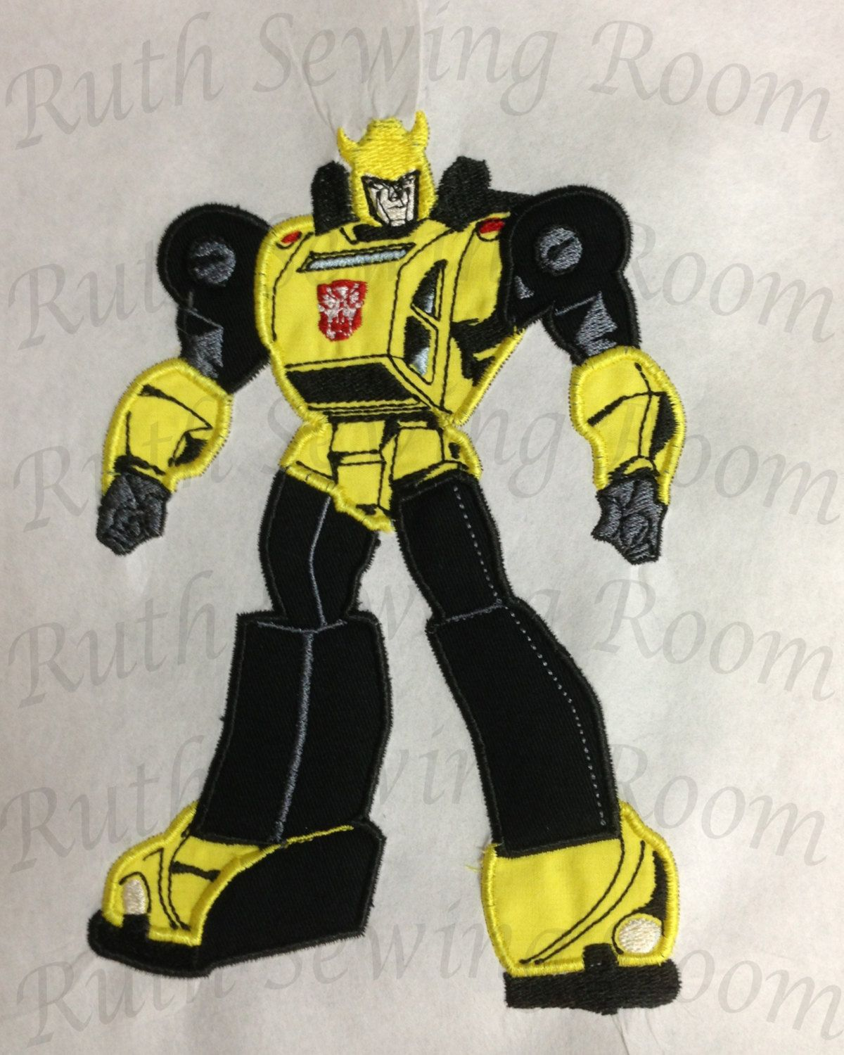Bumble bee embroidery designs car pictures - Transformers Bumble Bee Car Applique Embroidery Design Includes Free Logo Embr View