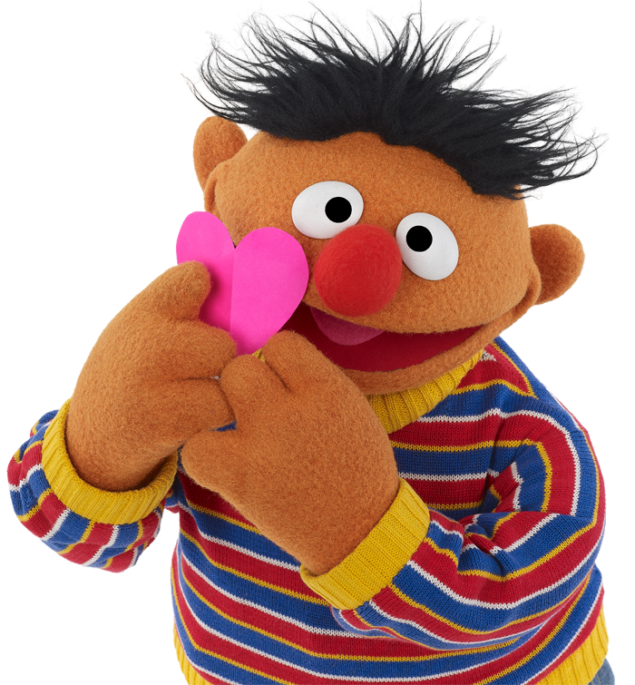 Ernie 7 Sesame Street Muppets The Muppet Show Sesame