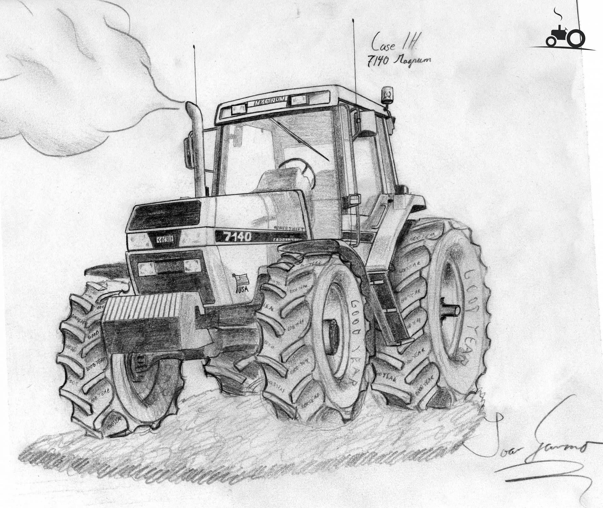 resultado de imagen de kleurplaat tractor laminas