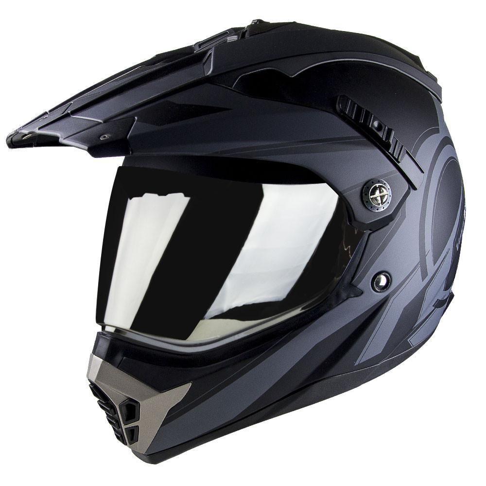 600 Dually Dual Sport Helmet Two Tone Reaction Dual