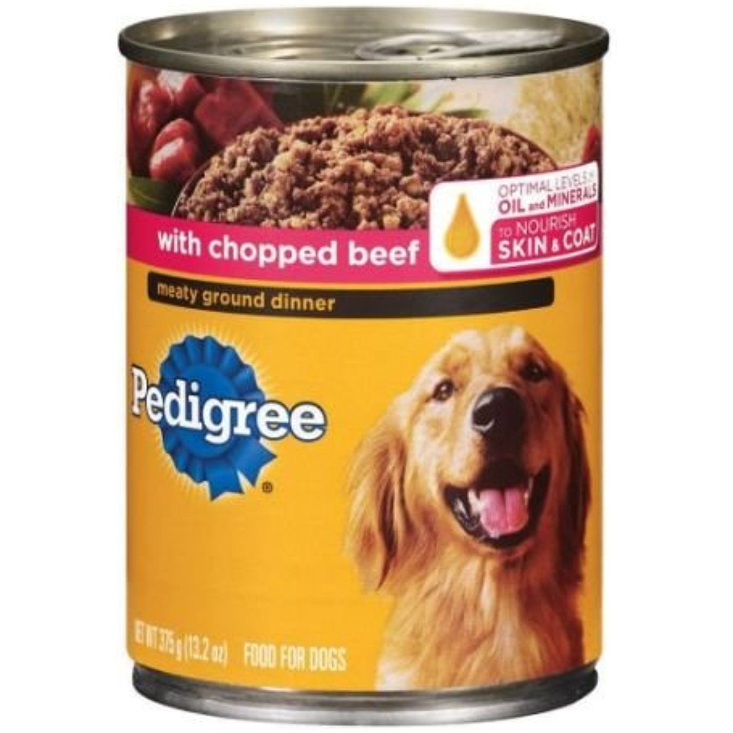 Pedigree Meaty Ground Dinner With Chopped Beef Wet Dog Food 13 2