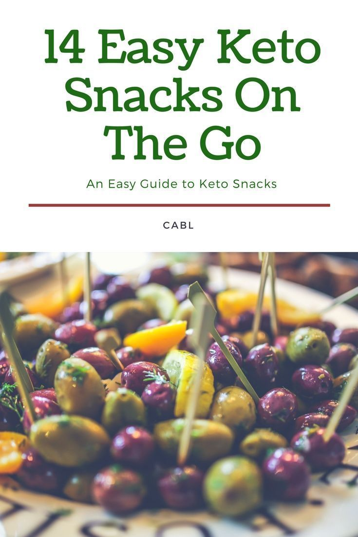 Easy keto snacks 14 quick on the go solutions with