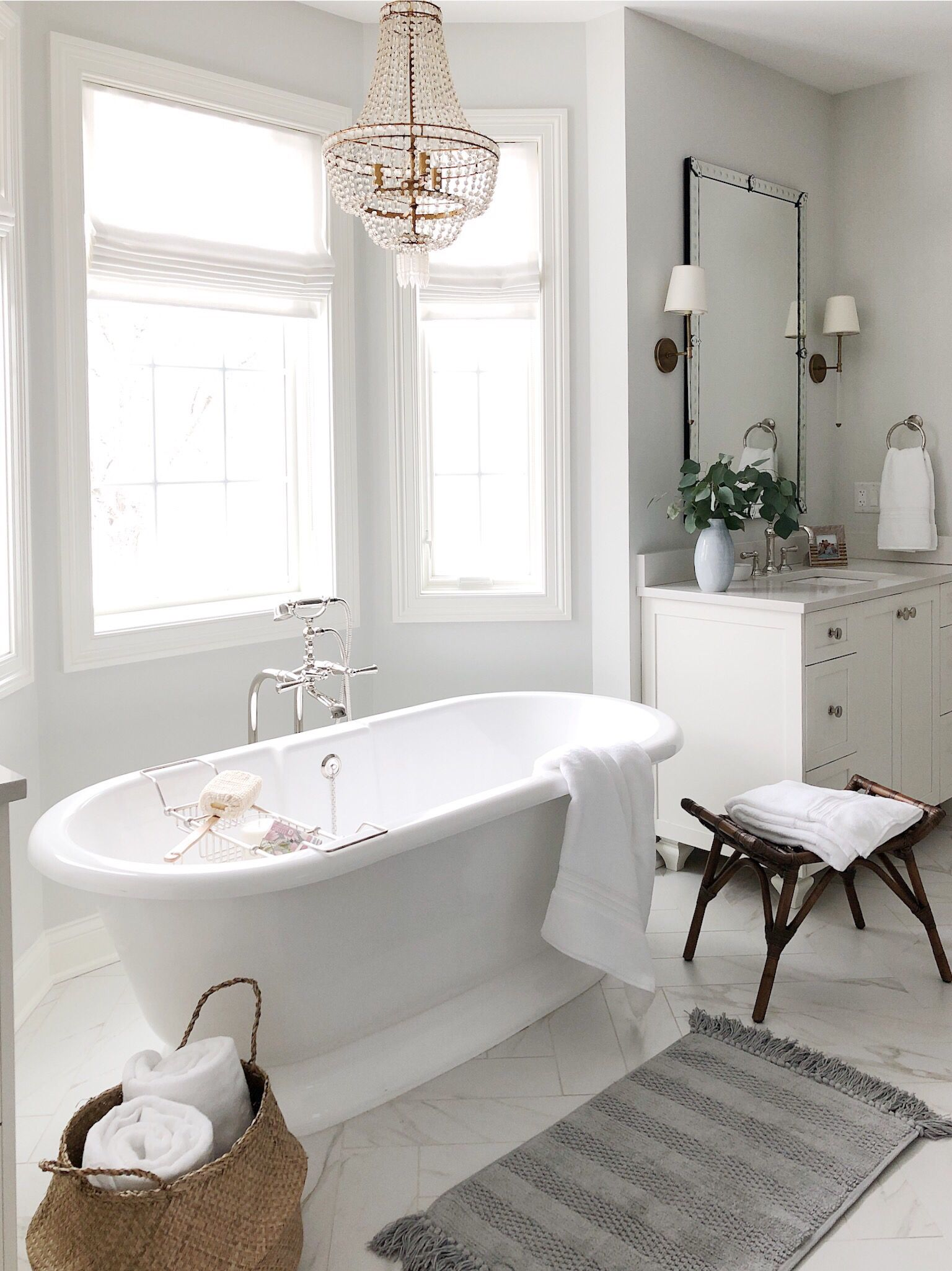 Bathroom Refresh With Pottery Barn Small Master Bathroom